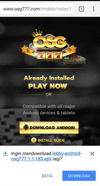 Download-dan-istal-osg777-android